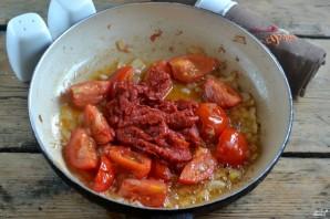Каннеллони с фаршем под томатным соусом - фото шаг 5