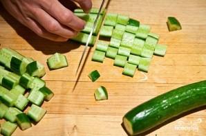 Салат из сладкой кукурузы - фото шаг 4