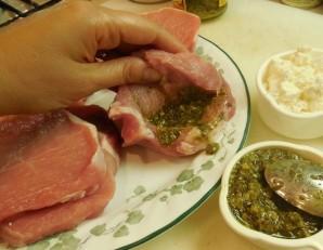 Мясо с сыром - фото шаг 2