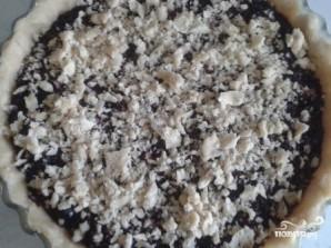 Постный черничный пирог - фото шаг 8