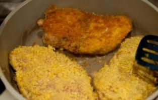 Куриная грудка, фаршированная сыром - фото шаг 7