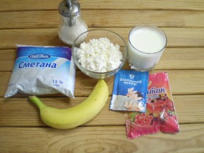 Бланманже с фруктами - фото шаг 1