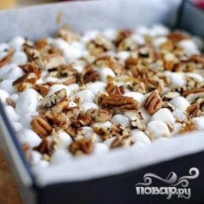 Шоколадные пирожные с орехами и суфле - фото шаг 6