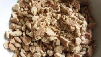 Колбаска из печенья и сгущенки - фото шаг 1