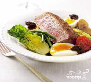 "Салат ""Нисуаз"" или Ниццкий салат - фото шаг 5"
