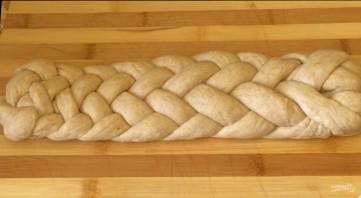 Постная плетенка из 7 жгутов - фото шаг 7