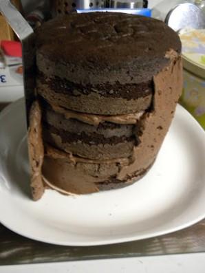 """Торт """"Цветок в горшке"""" - фото шаг 3"""