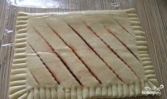 Пирог из слоеного теста с вареньем - фото шаг 3