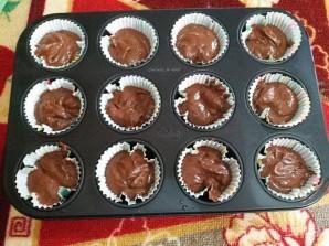 Шоколадные кексики с какао - фото шаг 5