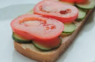 Бутерброды вегетарианские - фото шаг 2