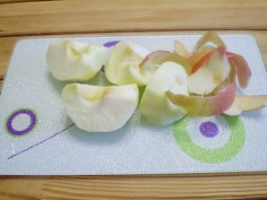Смузи яблочный - фото шаг 2