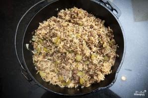 Рис с фаршем и овощами - фото шаг 7