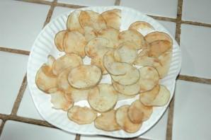 Чипсы из картошки в микроволновке - фото шаг 6