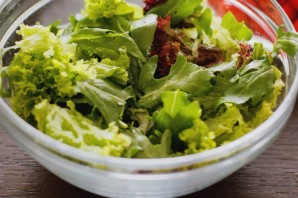 Салат с угрем - фото шаг 2