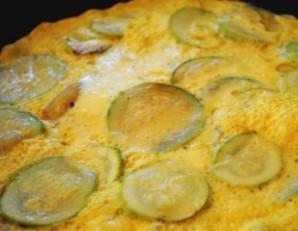 Омлет из кабачков на сковороде - фото шаг 5