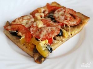 Пицца с тонким тестом - фото шаг 5