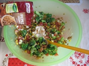 Салат из чечевицы - фото шаг 4