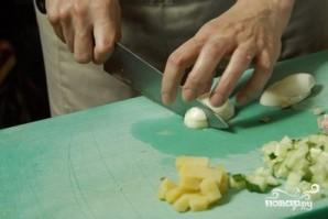 Окрошка с колбасой - фото шаг 5