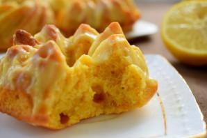 Тыквенные кексы с лимонным кремом - фото шаг 11