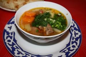 Суп из баранины в мультиварке - фото шаг 7