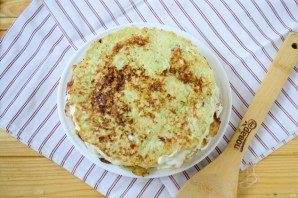 Кабачковый торт с помидорами - фото шаг 14