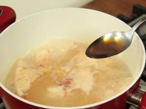 Тайский суп с креветками - фото шаг 4