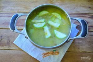 Крем-суп из кабачков с лисичками - фото шаг 7