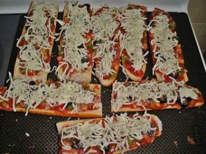 Пицца-багет - фото шаг 6