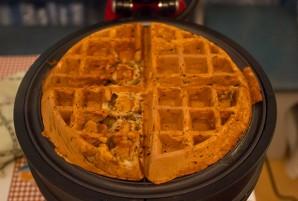 Тесто для вафель в вафельнице - фото шаг 4