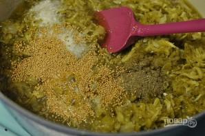 Острый салат из огурцов на зиму - фото шаг 3