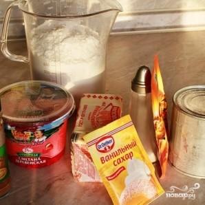 Пирожное с варёной сгущёнкой - фото шаг 1