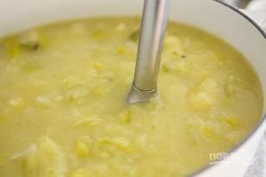 Картофельный суп с луком - фото шаг 6
