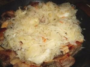 Тушеная картошка со свиными ребрышками - фото шаг 3
