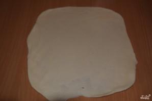 Пирог с курицей из дрожжевого теста - фото шаг 2