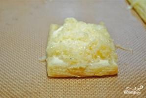Слоеный пирог со спаржей - фото шаг 4