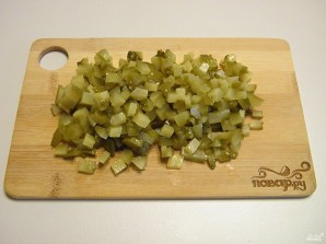 Слоеный салат с курицей - фото шаг 4