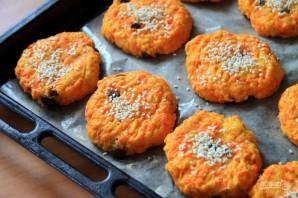 Морковное печенье с кунжутом - фото шаг 6