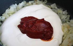 Бефстроганов из говядины со сметаной - фото шаг 4
