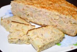 Мясной хлеб в мультиварке - фото шаг 8