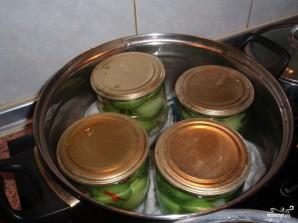 Маринованные помидоры зеленые - фото шаг 2