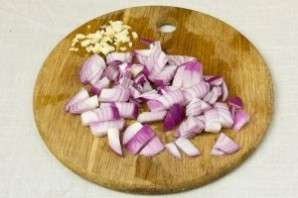 Вегетарианский суп-пюре из чечевицы - фото шаг 5