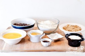 Шоколадное печенье с ванилью - фото шаг 1