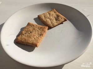 Крекеры из ржаной муки - фото шаг 6
