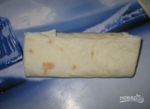 Ленивый хачапури из лаваша - фото шаг 4