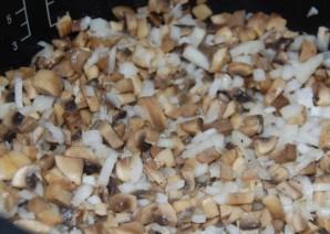 Жульен с грибами в мультиварке   - фото шаг 7