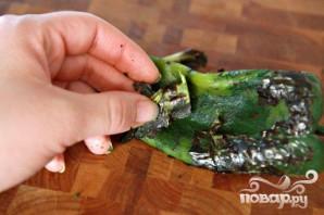 Вареные яйца с томатным соусом и фасолью - фото шаг 5