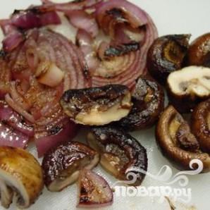 Салат из шпината на гриле - фото шаг 7