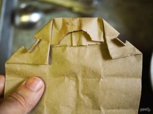 Попкорн в микроволновке с солью и маслом - фото шаг 4