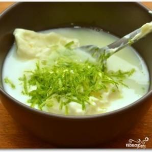 Салат с креветками в лаймовом соусе - фото шаг 6