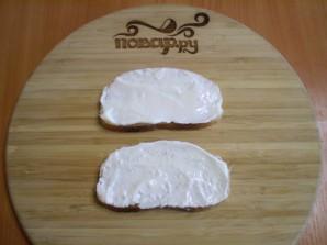Бутерброды с сыром и помидорами - фото шаг 4